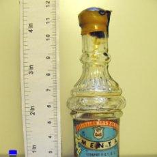 Coleccionismo de vinos y licores: BOTELLITA BOTELLIN MENTA SERPIS DESTILERIAS SERPIS GISBERT Y CIA ALCOY. Lote 44254191
