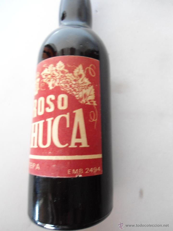 Coleccionismo de vinos y licores: BOTELLITA DE OLOROSO MACHUCA, ESTEPA. ESTA LLENA. - Foto 2 - 44466034