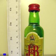 Coleccionismo de vinos y licores: BOTELLITA BOTELLIN WHISKY J & B BLENDED SCOTCH JUSTERINI & BROOKS. Lote 44818677