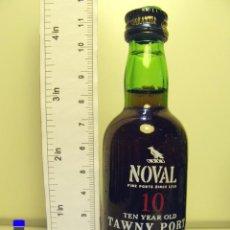 Coleccionismo de vinos y licores: BOTELLITA BOTELLIN NOVAL 10 TAWNY PORT PORTUGAL. Lote 44940947