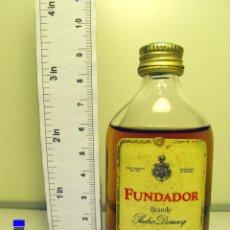 Collectionnisme de vins et liqueurs: BOTELLITA BOTELLIN PEDRO DOMECQ BRANDY FUNDADOR JEREZ DE LA FRONTERA. Lote 45055288