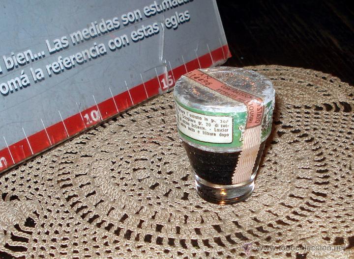 Coleccionismo de vinos y licores: ANTIGUO Y RARO FERNET DOBER ITALIANO 1950 CONCENTRADO CON ETIQUETAS ORIGINALES - Foto 6 - 45089969