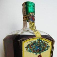 Coleccionismo de vinos y licores: GRAN BOTELLA ANTIGUA LICOR GRAN CREMA TOMAS SENSADA RIERA VALENCIA LICORES ANISADOS JARABES. Lote 45681294