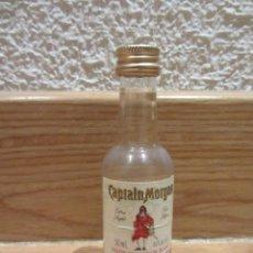 Coleccionismo de vinos y licores: BOTELLITA DE PLASTICO DE RON CAPTAIN MORGAN.BOTELLIN. MINIATURA. Lote 45808395