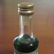 Coleccionismo de vinos y licores: CALISAY.PEPPERMINT. ANTIGUA PEQUEÑA BOTELLA CRISTAL. . Lote 46721905