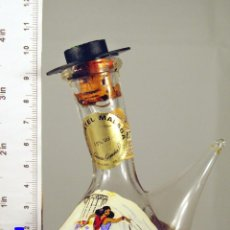 Coleccionismo de vinos y licores: BOTELLITA BOTELLIN PORRON MOSCATEL MALAGA GARCIA GOMARA S.A.. Lote 47148457