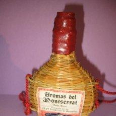 Coleccionismo de vinos y licores: ANTIGUA GARRAFA DE GRAN LICOR * AROMAS DE MONTSERRAT* DE LOS PADRES BENEDICTINOS - AÑO 1950-60S.. Lote 47321990
