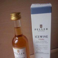 Coleccionismo de vinos y licores: BOTELLIN PELLER ESTATES ICEWINE VIDAL NIAGARA - ANDREW PELLER SIGNATURE SERIES - 2012 CANADA. Lote 47642096