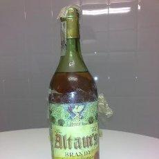 Coleccionismo de vinos y licores: BOTELLA ANTIGUA DE BRANDY ALTAM'S DESTILERIAS ALTIMIRAS 80 CENTIMOS PRECINTO REGALO PARA HOMBRES. Lote 47807443
