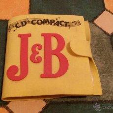 Coleccionismo de vinos y licores: ESTUCHE PORTA CDS WHISKY J&B. Lote 47859359