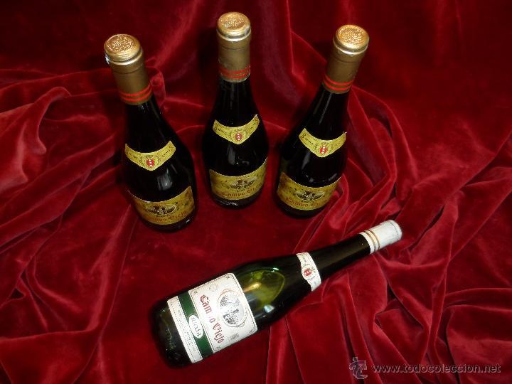 Coleccionismo de vinos y licores: EXCEPCIONAL LOTE DE TRES VINOS CAMPOVIEJO : 1 GRAN RESERVA DE 1970 Y 2 RESERVA DE 1978 - Foto 6 - 48195665