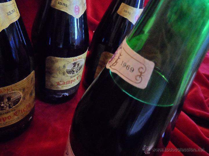 Coleccionismo de vinos y licores: EXCEPCIONAL LOTE DE TRES VINOS CAMPOVIEJO : 1 GRAN RESERVA DE 1970 Y 2 RESERVA DE 1978 - Foto 7 - 48195665