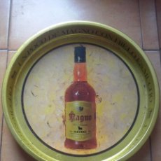 Coleccionismo de vinos y licores: BANDEJA DE METAL - OSBORNE MAGNO. Lote 48672407