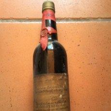 Coleccionismo de vinos y licores: BOTELLA DE VINO CARIÑENA DON RAMON, VICENTE SUSO Y PEREZ , PARA COLECCION, SIN ABRIR.. Lote 48873099