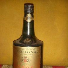 """Coleccionismo de vinos y licores: ANTIGUO COGNAC""""PRINCE HUBERT DE POLIGNAC V.S.O.P. NAPOLEON"""".FINE CHAMPAGNE.SIN ABRIR.CORCHO.C1975. Lote 48991321"""