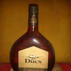 """Coleccionismo de vinos y licores: ARMAGNAC """"CLÉS DES DUCS"""" ***. LLENA Y SIN ABRIR. TAPÓN CORCHO. C1980. Lote 48996835"""