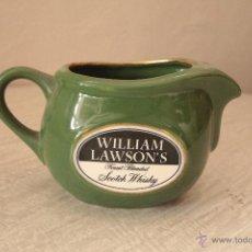 Coleccionismo de vinos y licores: JARRA PORCELANA WHISKY WILLIAM LAWSON'S -REF3500- . Lote 48996949
