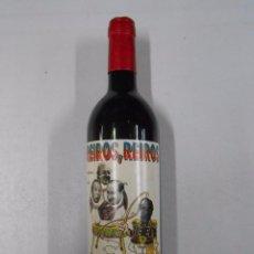 Coleccionismo de vinos y licores: BOTELLA DE VINO. REIROS, REIROS. NUÑEZ, MENDOZA, JESUS GIL. RUIZ MATEOS. . Lote 49129528