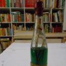 Coleccionismo de vinos y licores: BOTELLA PEPPERMINT. ESCARCHADO. J.Mª AZNAR. LOGROÑO. DESTILERIAS LA RIOJANA. . Lote 49365244
