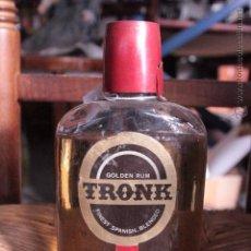 Coleccionismo de vinos y licores: GOLDEN RUM TRONK - BOTELLA DESTILERIA VENTURA - GRANOLLERS. Lote 49987456