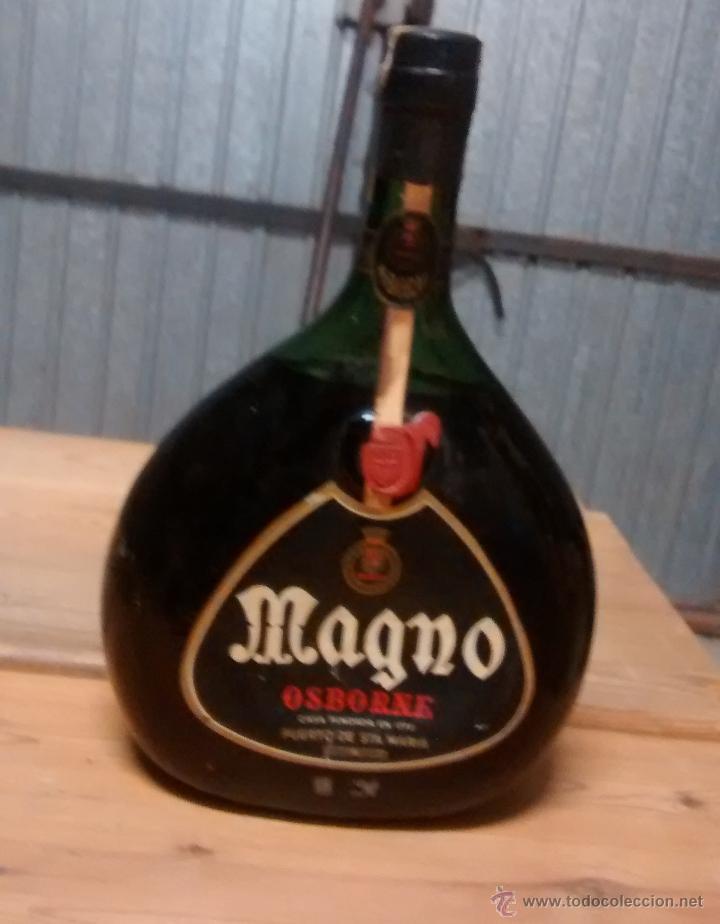BOTELLA MAGNO DE OSBORNE, SIN ABRIR (Coleccionismo - Botellas y Bebidas - Vinos, Licores y Aguardientes)