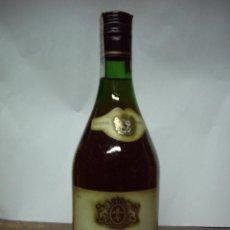 Coleccionismo de vinos y licores: BRANDY SAINT JACQUES (BOTELLA PRECINTO 8 PESETAS). Lote 50509676