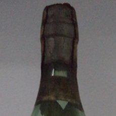 Coleccionismo de vinos y licores: BOTELLA BRANDY ESCOGIDO. FLORIDO HERMANOS. SANLÚCAR DE BARRAMEDA. 4 PESETAS. PLOMO Y CORCHO.. Lote 50589956