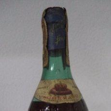Coleccionismo de vinos y licores: BOTELLA DE BRANDY SOBERANO. GONZALEZ BYASS. IMPUESTO 80 CENTIMOS. JEREZ.. Lote 50697743