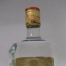 Coleccionismo de vinos y licores: BOTELLA DE ANIS. ANISETTE SOLYNIEVE. LUIS ESPINOSA GARCIA. ALMENDIN (GRANADA).. Lote 50882331