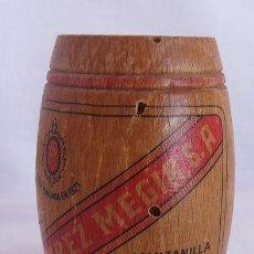 Coleccionismo de vinos y licores: PALILLERO ANTIGUO BODEGAS PEREZ MEJIA SANLUCAR MANZANILLA. Lote 50982083