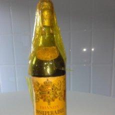 Coleccionismo de vinos y licores: BOTELLA ANTIGUA DE BRANDY COÑAC INSUPERABLE GONZALEZ BYASS IMPUESTO PRECIONTO 80 CENTIMOS AÑOS 60 . Lote 51459016