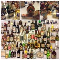 Coleccionismo de vinos y licores: COLECCION DE BODEGUISTA VARIOS MODELOS Y AÑOS DE MINIATURAS. ALGUNAS MUY ANTIGUAS. Lote 51586355