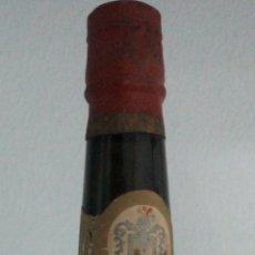 Coleccionismo de vinos y licores: BOTELLA JEREZ CORTADO WELLINGTON. HIDALGO Y CIA. SANLUCAR DE BARRAMEDA.. Lote 52170660