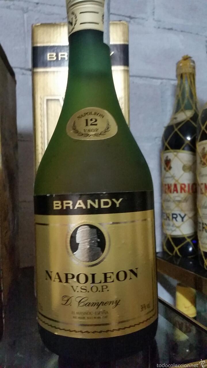 BRANDY NAPOLEON 12 (Coleccionismo - Botellas y Bebidas - Vinos, Licores y Aguardientes)