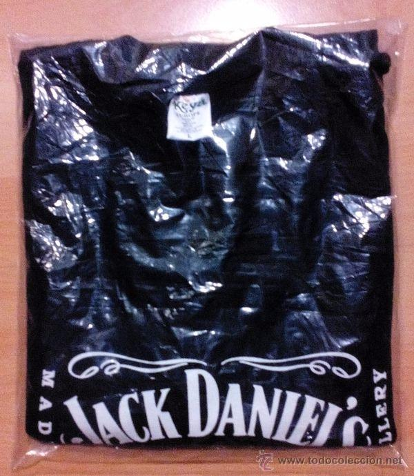 9da9fd67c6c9d Camiseta Jack Daniel s. Whisky. Whiskey. Old Number 7. Talla L. Original.  En negro. Nueva