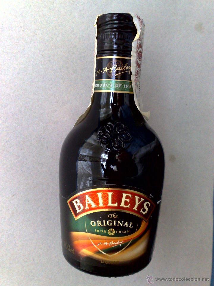 BOTELLA BAILEYS (200ML.) ORIGINAL IRISH CREAM-CON PRECINTO (ALTO 15CM.) DESCRIPCIÓN (Coleccionismo - Botellas y Bebidas - Vinos, Licores y Aguardientes)