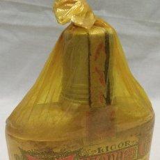 Coleccionismo de vinos y licores: BOTELLIN LICOR TIZONA DE LOS PADRES CISMERCIENSES DEL MONASTERIO SAN PEDRO DE CARDEÑA ( BURGOS ),. Lote 52738384