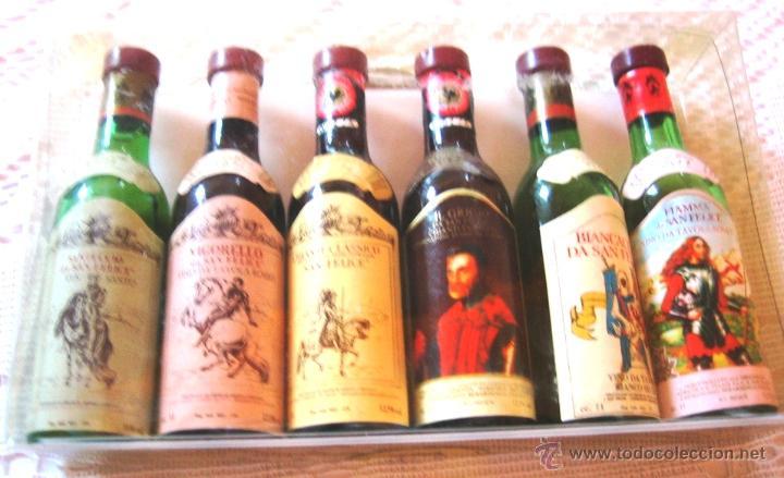 BOTELLITAS MUY PEQUEÑAS- LICORES ALPA-6 (Coleccionismo - Botellas y Bebidas - Vinos, Licores y Aguardientes)