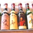 Coleccionismo de vinos y licores: BOTELLITAS MUY PEQUEÑAS- LICORES ALPA-6. Lote 52802452