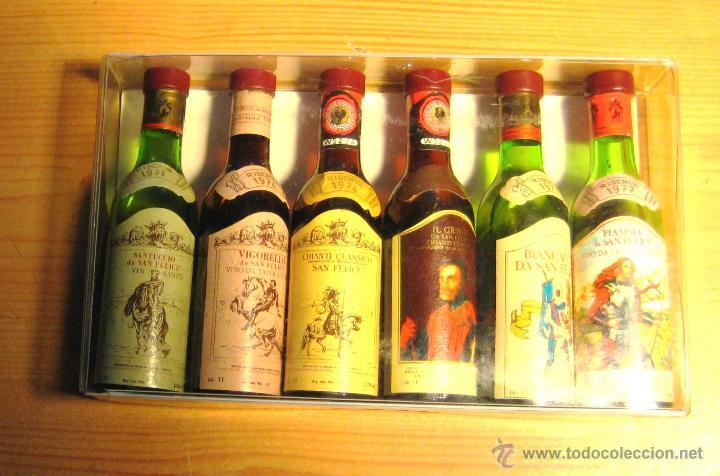 Coleccionismo de vinos y licores: Botellitas muy pequeñas- Licores ALPA-6 - Foto 3 - 52802452