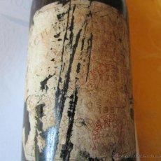 Coleccionismo de vinos y licores: ANTIGUA BOTELLA VINO TINTO COSECHA 1952. Lote 52934942