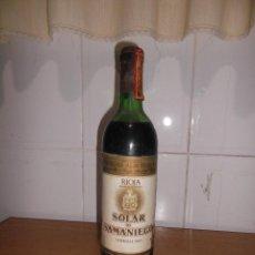 Coleccionismo de vinos y licores: VINO RIOJA SOLAR DE SAMANIEGO 1983.. Lote 53881275