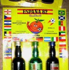 Coleccionismo de vinos y licores: COLECCIÓN ESPAÑA 82- BOTELLINES MÁLAGA QUITAPENAS -LOTE C. Lote 54394735