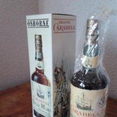 Coleccionismo de vinos y licores: BRANDY OSBORNE CARABELA SANTA MARIA AÑOS 70-80 EN CAJA. Lote 54587874