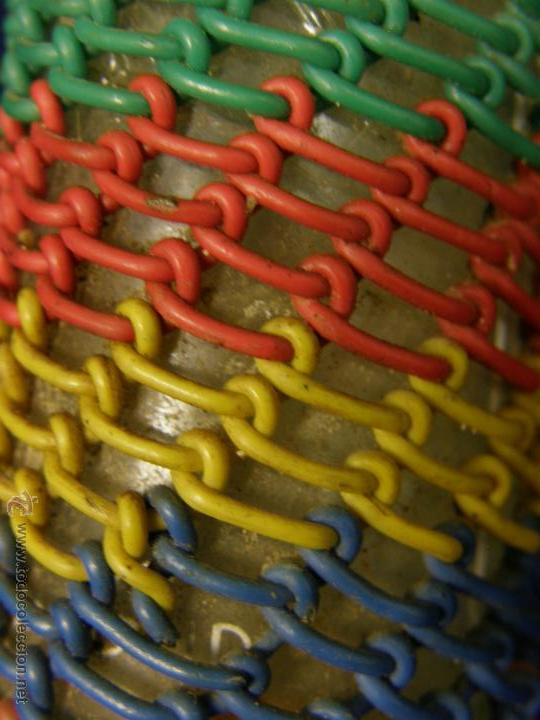 Coleccionismo de vinos y licores: botella vermout kalty decorada alambre explosivos mina trabajo minero laforet castellar 16x10 - Foto 4 - 54786624