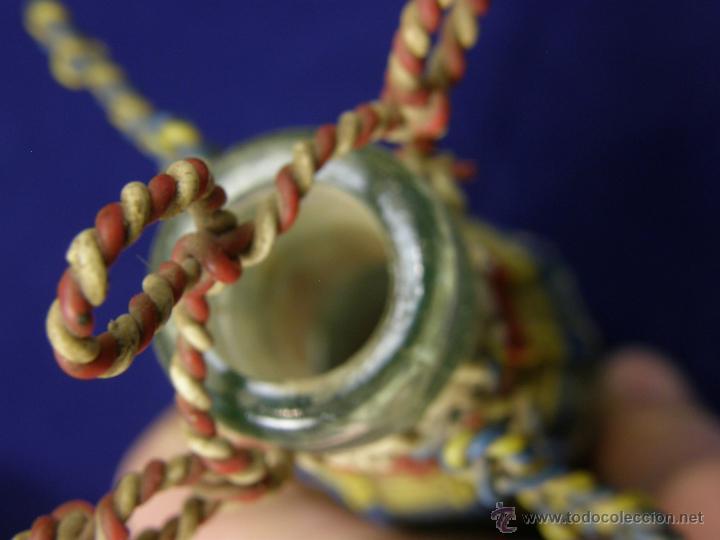 Coleccionismo de vinos y licores: botella vermout kalty decorada alambre explosivos mina trabajo minero laforet castellar 16x10 - Foto 9 - 54786624