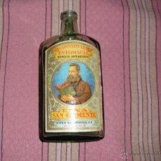 Coleccionismo de vinos y licores: BOTELLA - RECONSTITUYENTE ESTOMACAL - KINA - PUBLICIDAD KINITO. Lote 54892411