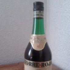Coleccionismo de vinos y licores: BRANDY TORRE-ROJA 10 SOLERA RESERVADA-ANOS 70-80. Lote 54919208