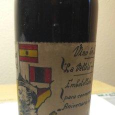 Coleccionismo de vinos y licores: RARA BOTELLA VINO CONMEMORATIVO A FRANCO. Lote 55145328