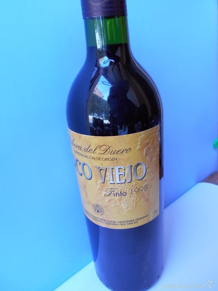 VINO RIVERA DEL DUERO DEL AÑO 1998 (Coleccionismo - Botellas y Bebidas - Vinos, Licores y Aguardientes)
